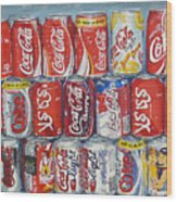 World Of Coca Cola Wood Print