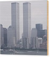 World Trade Center And Opsail 2000 July 4th Photo 6 Wood Print