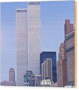 World Trade Center Wood Print
