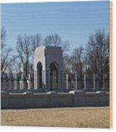World War 2 Memorial Wood Print