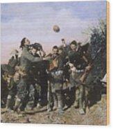 World War I: Armistice Wood Print