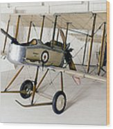 World War I: British Plane Wood Print