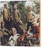 World War I: French Troops Wood Print