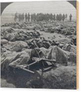 World War I: Russian Dead Wood Print