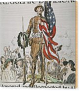 World War I: U.s. Army Wood Print