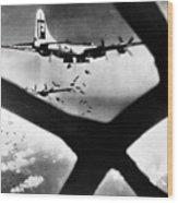 World War II B-29 1945 Wood Print