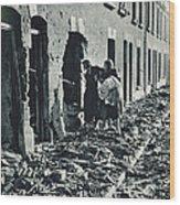 World War II: Blitz, 1940 Wood Print