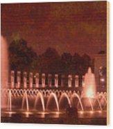 World War II Memorial IIb Wood Print