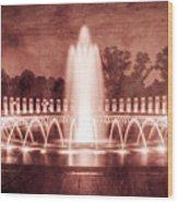 World War II Memorial IIib Wood Print