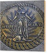 World War II Monument Wood Print