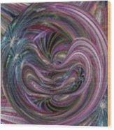 Worm Hole Wood Print