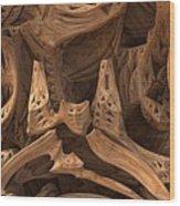Wormwood Wood Print
