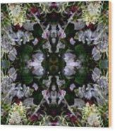 Wornhole Mandala Wood Print