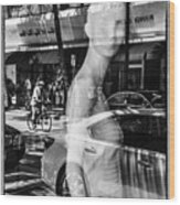 Worth Ave Reflections 0484 Wood Print