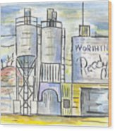 Worthington Ready Mix Wood Print