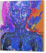 Wounded Sprit II Wood Print