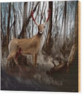 Wounded Wanderer Wood Print