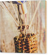 Woven Air Craft Wood Print