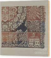Woven Coverlet Wood Print