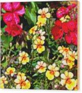Wp Floral Study 1 2014 Wood Print