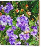 Wp Floral Study 2 2014 Wood Print