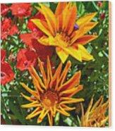 Wp Floral Study 5 2014 Wood Print
