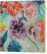 Wrap It Up In Spring By Lisa Kaiser Wood Print