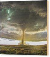 Wray Colorado Tornado 070 Wood Print