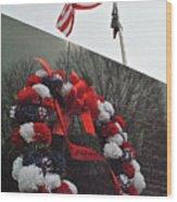 Wreath Of The Korean War Wood Print