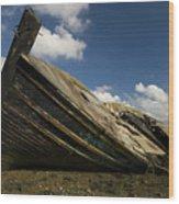 Wreck Hoo England Wood Print