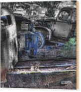 Wrecking Yard Study 12 Wood Print