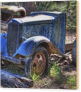Wrecking Yard Study 15 Wood Print