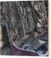 Wrecking Yard Study 7 Wood Print