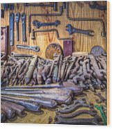 Wrenches Galore Wood Print