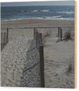 Wrightsville Beach Wood Print by Janet Pugh