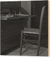 Writing Desk Wood Print