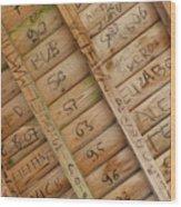Writings On Wood Wood Print