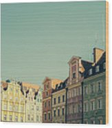 Wroclaw Architecture Wood Print
