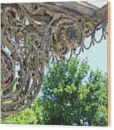 Wrought Iron Scroll Wood Print