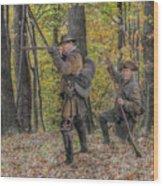 Wulff's Rangers At Schoenbrunn Village Wood Print