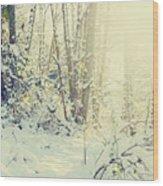 Wunderkind Wood Print