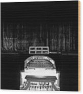 Wurlitzer Organ In The Lincoln Theatre Wood Print