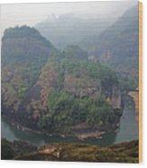 Wuyi Shan - Jiuquxi Wood Print