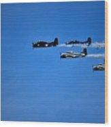 World War 2 Fighters Wood Print