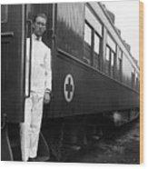 Ww I: Red Cross Railroad Wood Print