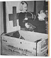Ww II: Red Cross, C1942-43 Wood Print