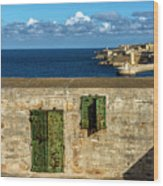 Ww2 Fortification Door Wood Print