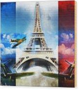Ww2 France Wood Print