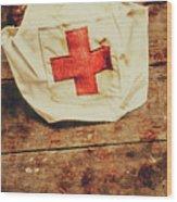Ww2 Nurse Hat. Army Medical Corps Wood Print