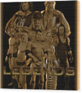 Wwe Legends By Gbs Wood Print